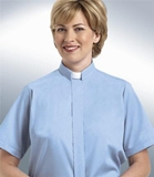 Tab Collar Women's Clergy Shirt