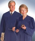 Non-black Judge Robe