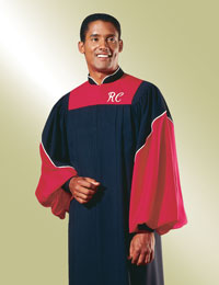 Custom choir robes- standing collar styles
