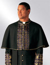 ready to wear clergy shoulder cape for men