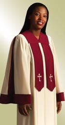 Ready-made choir robe- Crescendo
